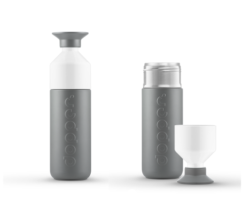 Dopper Insulated Thermos Fles Glacier Grey 350 ml