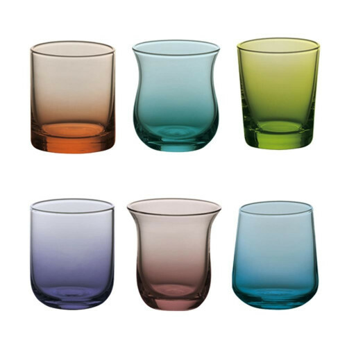 Bitossi Borrel Shot glas set van 6 FC