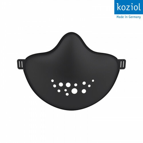 Koziol Herbruikbaar Mondkapje met verwisselbare filter Zwart