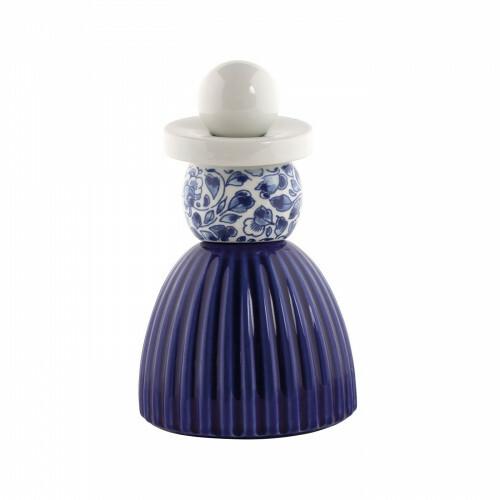 Delfts Blauw Proud Mary 03 Cobalt Flower Pattern