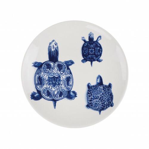 Royal Delft Wunderkammer Bord 24 cm Turtles