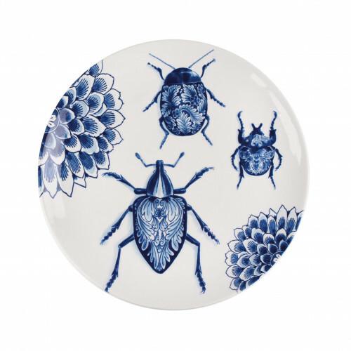 Royal Delft Wunderkammer Bord 28 cm Bugs