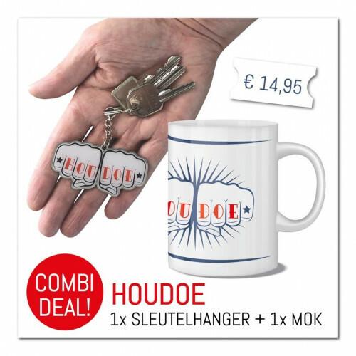 Combi-Deal Mok Houdoe met Houdoe sleutelhanger