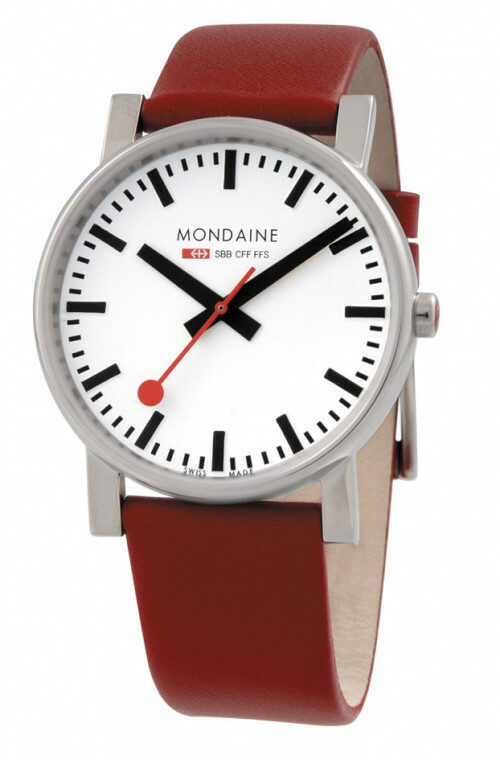 MONDAINE EVO POLISHED 38 RED