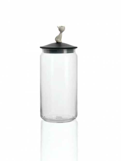 Alessi Mio Jar Zwart