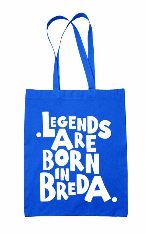 Tas Legends are Born in Breda Blauw