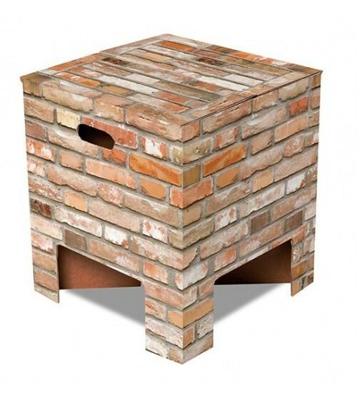 Dutch Design Chair krukje Brick Stenen