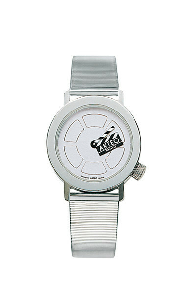 Akteo Horloge Cinema Clap Lady Metal