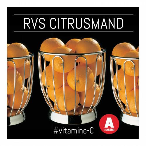 Alessi Fruitmand RVS 370/19