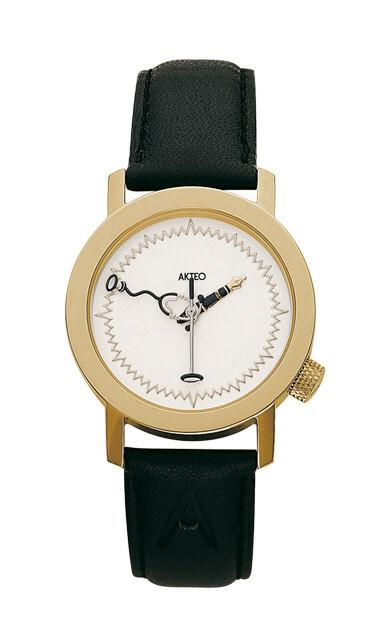 Akteo Horloge Dokter Gold