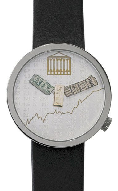 Akteo Horloge Finance Wall Street 48