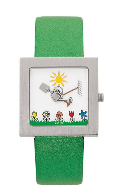 Akteo Horloge Garden Kubik