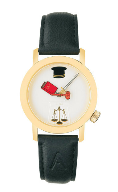 Akteo Horloge Rechter Gold