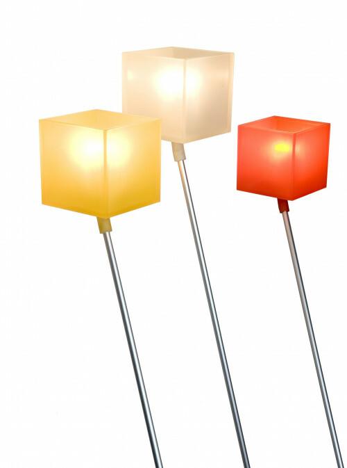 Lazy Leunlamp Oranje