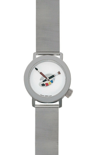 Akteo Horloge Paint 02 Lady Metal