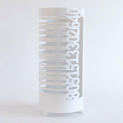 Arti e Mestieri Paraplubak Barcode White