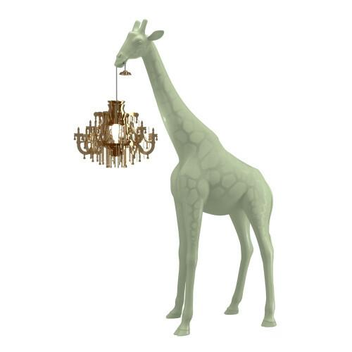 Qeeboo Giraffe in Love XS Warm Sand