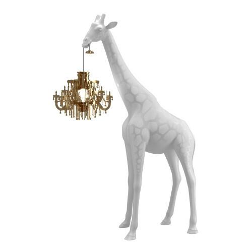 Qeeboo Giraffe in Love XS Wit