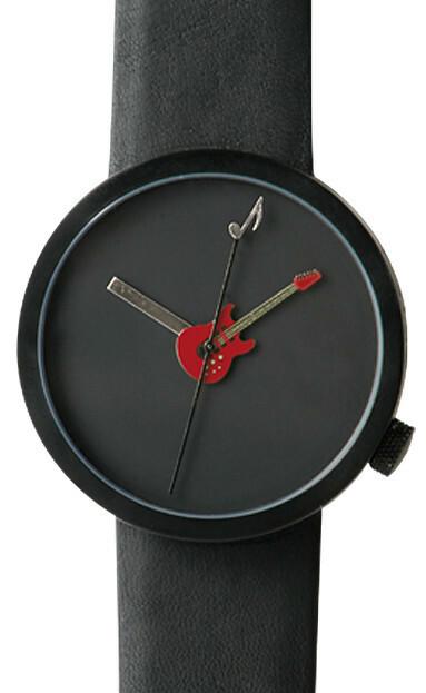 Akteo Horloge Gitaar Rood 48