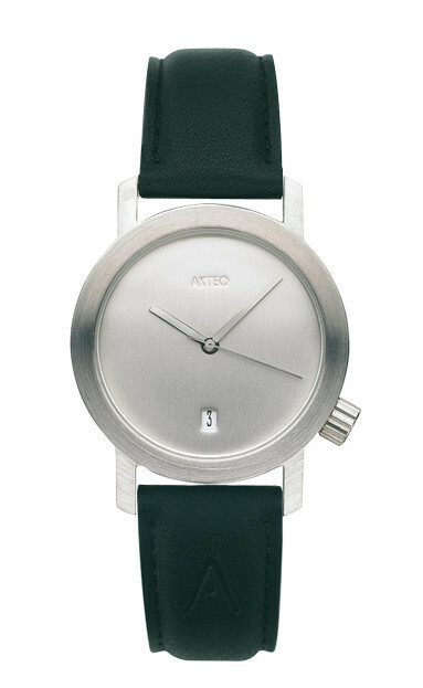 Akteo Horloge Silver Day Dato