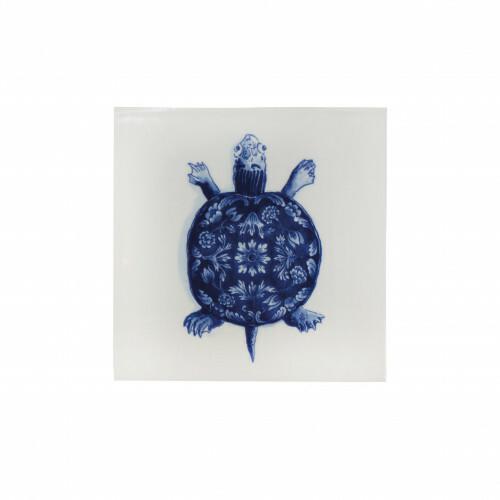 Royal Delft Wunderkammer Turtle Tegel 03