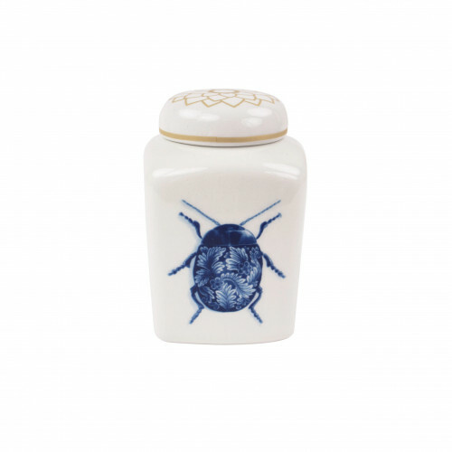Royal Delft Wunderkammer Theebus Bugs