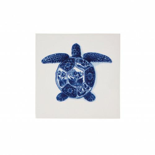 Royal Delft Wunderkammer Turtle Tegel 02