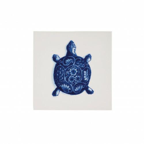 Royal Delft Wunderkammer Turtle Tegel 06