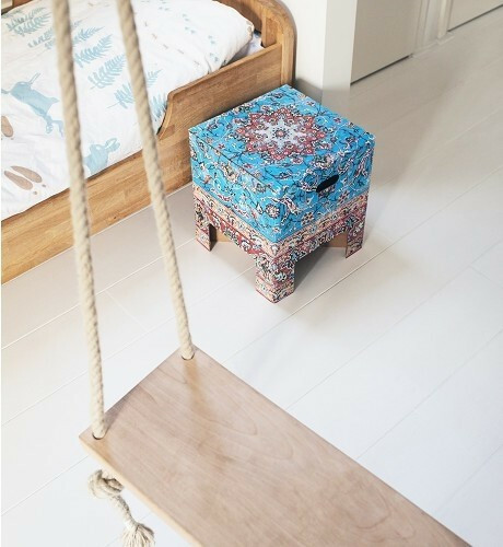 Dutch Design Chair krukje Vintage