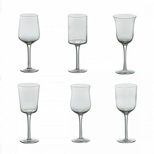 Bitossi Wijnglas set van 6 Helder