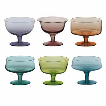 Bitossi Coupe glas set van 6 FC