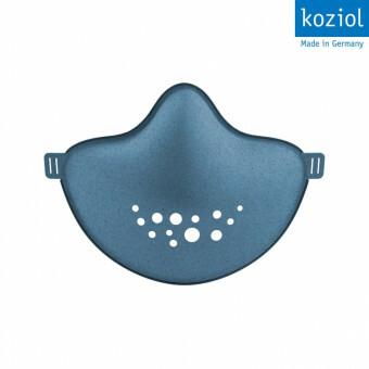 Koziol Herbruikbaar Mondkapje met verwisselbare filter Blauw