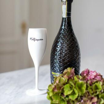 Koziol Champagne glas Cheers SELFIEQUEEN