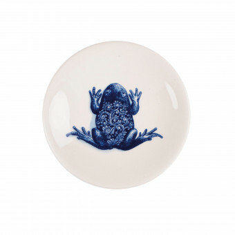 Royal Delft Wunderkammer Bord 15 cm Frog
