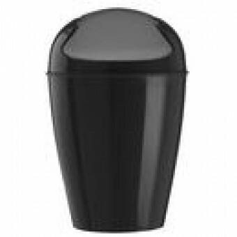 Koziol  afval emmer DEL XL zwart
