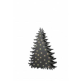 Kerstboom Blacky Small met aan beide zijden verlichting