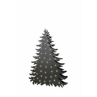 Kerstboom Blacky Medium met aan beide zijden verlichting
