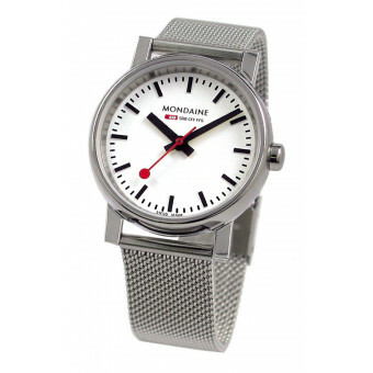MONDAINE EVO GENTS 35 POLISHED METAL