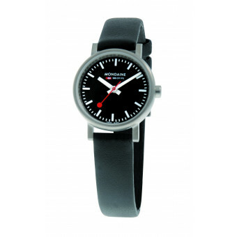 MONDAINE EVO LADIES 26 BRUSHED BLACK