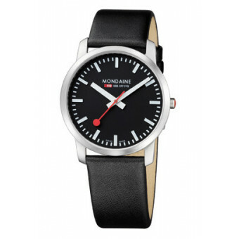 MONDAINE SIMPLY ELEGANT BLACK POLISHED 41