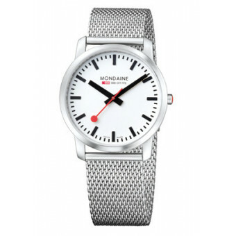 MONDAINE SIMPLY ELEGANT BRUSHED METAL 41