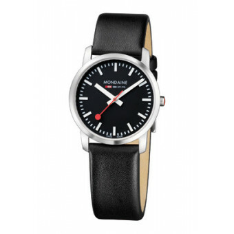 MONDAINE SIMPLY ELEGANT LADY POLISHED 36 BLACK
