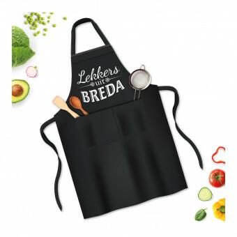 BBQ Kook Schort Lekkers uit Breda Zwart