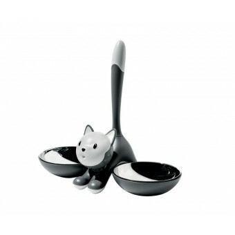 Alessi Tigrito Cat Bowl Grijs