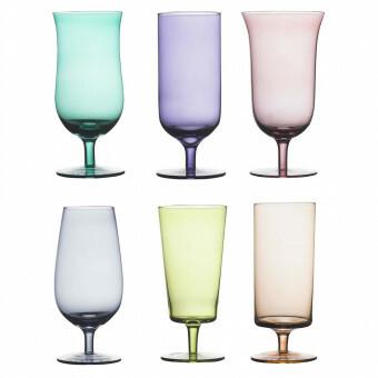 Bitossi Bier glas set van 6 FC
