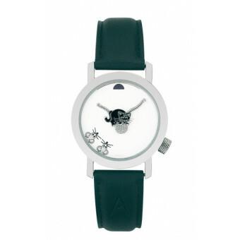Akteo Horloge Black Cat