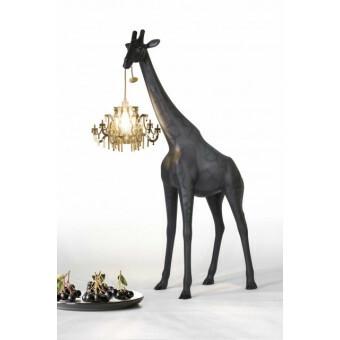 Qeeboo Giraffe in Love XS Zwart