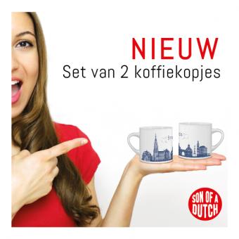 Koffiekopjes Breda Skyline Set van 2