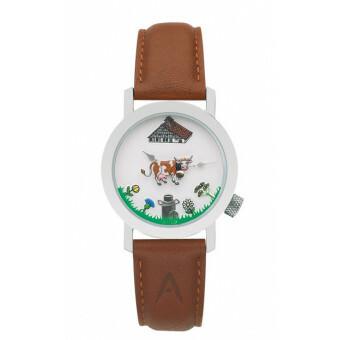 Akteo Horloge Cow Brown