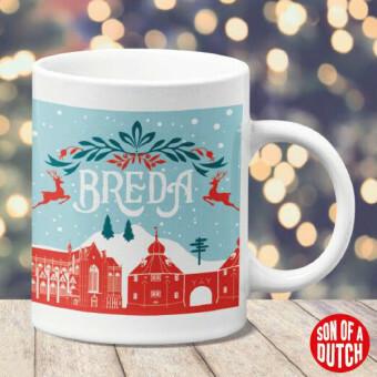 Kerst Mok Breda Blauw